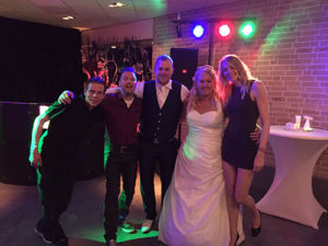 Bruiloft Jan en Angelique | Shorty and the Blond | DJ Zanger en Zangeres