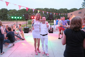 Leon 40 Jaar | Shorty and the Blond | DJ zanger en zangeres